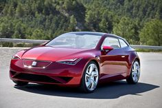 Seat Ibe concept of electric car