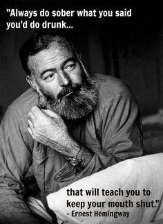 Hemingway Has A Point