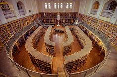 Inside the vintage Central Library at Cubbon Park, Bangalore