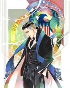 Percival Graves  The Director of Magical Security for MACUSA  by 雷思利Lesley'S DOODLES