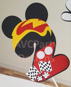 Mickey Mouse Roadster Racer Minnie mouse Birthday Party   Etsy Mickey Mouse Head, Mickey Mouse Birthday, Nautical Mickey, Third Birthday, 2nd Birthday Parties, Mickey Party, Birthdays, Fiesta Mickey Mouse, Farm Party