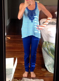Kut from the Kloth Denna Colored Skinny Jeans I have mint green skinnies but another color would be fun