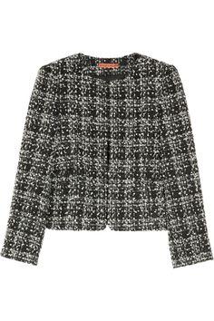 Alice + Olivia | Alanna Sequined Tweed Jacket ($597) #Coveted #TweedJacket #Alice+Olivia