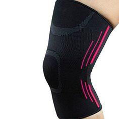 b0daac99f8 Unisex Knee Support Brace Sleeve for Running, Basketball, Football, Pink  #ArthritisSymptoms Reactive