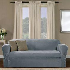 Red Barrel Studio Separate Seat Box Cushion Loveseat Slipcover
