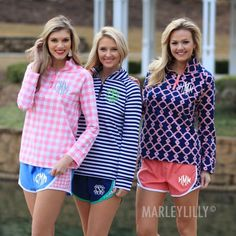 Monogrammed Pattern Track Shorts