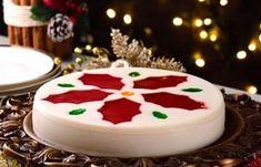5 deliciosos postres hechos con gelatina para Navidad Xmas Desserts, Jello Desserts, Christmas Deserts, Christmas Treats, Christmas Baking, Dessert Recipes, Christmas Parties, Christmas Time, 3d Jelly Cake