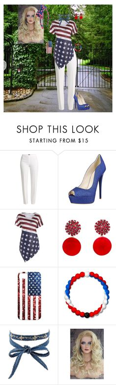 """I am Proud"" by batgirl-at-the-disco3 ❤ liked on Polyvore featuring Basler, Marni, Lokai, Chan Luu and Oscar de la Renta"