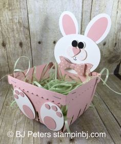 Berry Basket, Berry Basket Bunny, Stampin' up!, BJ Peters