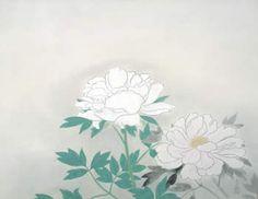 小林古径作品「牡丹」(画像)