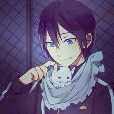 Noragami ~~ Yato and Friend and hes so cute! why yato? Anime Noragami, Yatogami Noragami, Manga Anime, Yato And Hiyori, Manga Art, Anime Art, Chibi, Otaku, Yatori