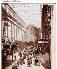 Launching the Titanic