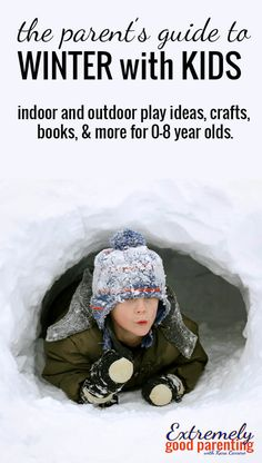 How to survive #winter with #kids. #Play #playideas #kidsactivities #kbnmoms #kidscrafts