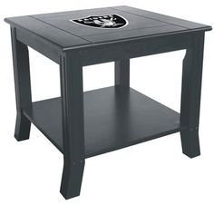 Use this Exclusive coupon code: PINFIVE to receive an additional 5% off the Oakland Raiders Side Table at SportsFansPlus.com