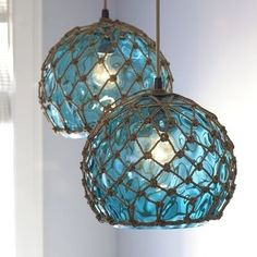 beach lamps, now i just need the beach house!