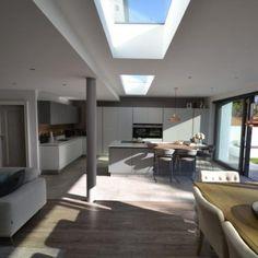 Joe Fallon Architectural Design | Dublin | Ireland » House Extensions Rear Extension, Roof Window, House Extensions, Dublin Ireland, Architecture Design, Garden Ideas, Home And Garden, Ceiling, Windows