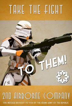 Cool Stuff We Like Here @ CoolPile.com ------- << Original Comment >> ------- Star Wars Propaganda poster