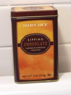 It's almost that time! Trader Joe's should be getting in their Sipping Chocolater. Mmmmm. I'm buying them out this year!
