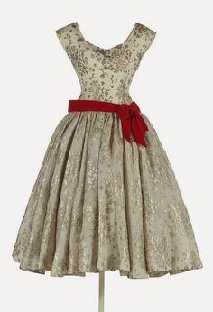 """yo elijo coser: Patrón gratis: vestido """"retro"""" años 50"""