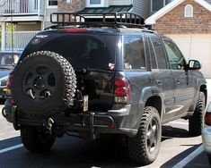 Markmc customers photo album page 10 chevy trailblazer baja rack roof rack chevy trailblazer trailblazer ss and gmc envoy forum mozeypictures Images