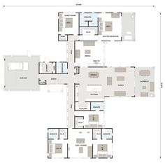 House goals floor plans bedrooms 27 new ideas 5 Bedroom House Plans, Family House Plans, Best House Plans, Dream House Plans, Modern House Plans, House Floor Plans, The Plan, How To Plan, Architectural Floor Plans