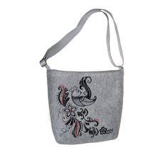 Dámská kabelka přes rameno Zpívající pták MarkModern Reusable Tote Bags, Design, Fashion, Moda, Fashion Styles, Fashion Illustrations