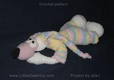 Project by alla1. Teddy Bear Potapchik with pyjamas.crochet pattern by Astashova…