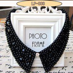 2017 accessories jewelry new rhinestone collar false jewelry necklace beads fashion collar choker vintage style crystal jewelry