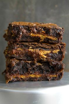 Ultimate S'mores Brownies from AmyintheKitchen.com