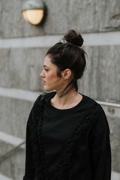 Robe sweat SheIn. street style Paris look l'atelier d'al blog mode Lifestyle Paris