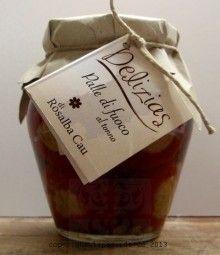 """Peperoni gefüllt - Diese """"Palle di fuoco"""" gefüllte Peperoni sind großartig. Geschmackvoll, pikant, traumhaft."""
