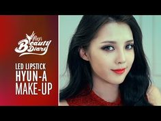 Pony's Beauty Diary – Red Lip HyunA Cover Makeup (with subs) 레드립 현아 커버 메이크업 Pony Makeup, Red Makeup, Beauty Makeup, Makeup Looks, Korean Makeup Look, Korean Makeup Tips, Asian Makeup Before And After, Asian Makeup Tutorials, Makeup Tutorial Step By Step
