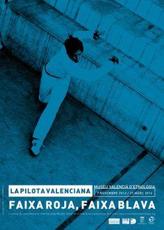 """Cartel de la Exposición """"Faixa roja, Faixa blava"""" en La Beneficència Movie Posters, Movies, Sash Belts, Poster, Films, Film, Movie, Movie Quotes, Film Posters"""