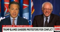 Bernie Sanders Rips Into Donald Drumpf: 'Everybody Knows This Man Cannot Stop Lying' | Alternet