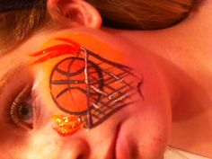 Basketball Face Painting.... :)