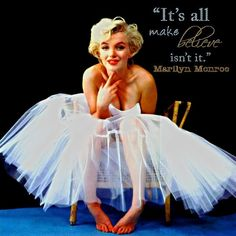 My favorite marilyn monroe quote. I have it tattooed on me, so many different meanings....❤