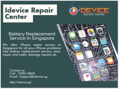 iPhone Crack Screen Repair Services   Battery Replacement Services