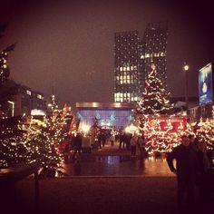 Weihnachtsmarkt auf der Reeperbahn, St. Pauli, Hamburg.