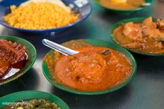 Some of the best nasi kandar in Penang, Malaysia! #nasikandar
