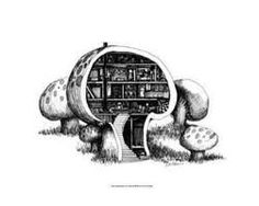 mushroom house - Google Search