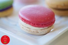 Raspberry Macaron from Sucré - New Orleans Fresh