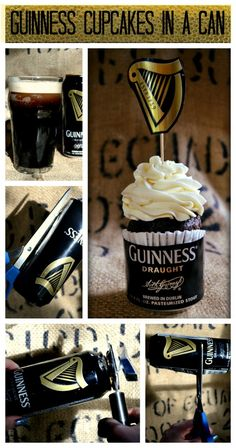 My first experience baking with beer was in 1996 when I was the pastry cook at Q's restaurant in Boulder Colorado. This was early days in the craft beer revolution and folks were just beginning to experiment with beer styles and…Read more › Guinness Cupcakes, Beer Cupcakes, Guinness Cake, Beer Crafts, Craft Beer, Baking With Beer, Guinness Recipes, Cider Tasting, Beer Tasting Parties
