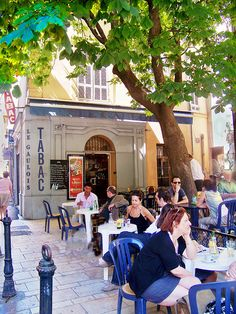 Aix en Provence cafe, France