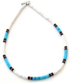 Heishi Shell and Gemstone Necklaces Page 1