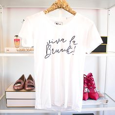 Viva La Brunch T-Shirt | Available now at TMDesignShop.com #Fashion #Brunch