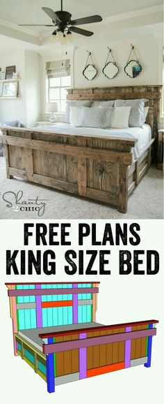Gorgeous Wood Bed Frame
