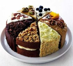Oh My Gosh...my dream cake...a wee bit of everything yum!