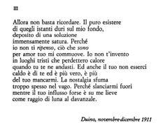 (Rainer Maria Rilke, Sonetti a Orfeo)