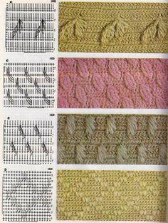 Bobbled Stitches to Crochet ⋆ Crochet Kingdom Crochet Motifs, Crochet Stitches Patterns, Crochet Diagram, Doily Patterns, Crochet Chart, Stitch Patterns, Bobble Stitch Crochet, Crochet Wool, Baby Afghan Crochet