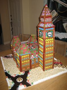 Gingerbread Big Ben and House of Commons - 2009